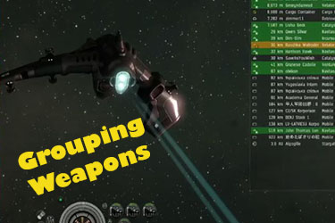 New Fitted Ship: Grouping Your Weapons