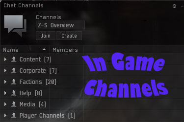 How to Join an In Game Chat Channel