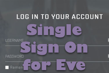 Eve Online Single Sign On (SSO)
