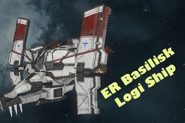 ER Incursion Basilisk – Logi Ship
