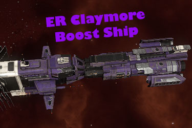ER Incursions Claymore – Boost Ship