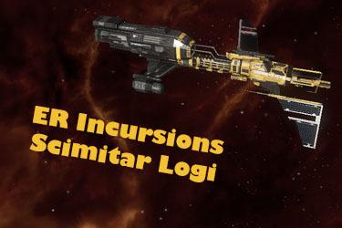 ER Incursion Scimitar Logi Ship