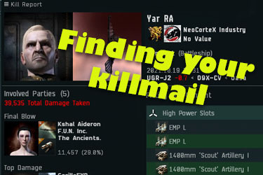 Finding and Linking Your Killmail